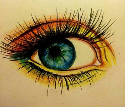 Eye Art Print by Kate R