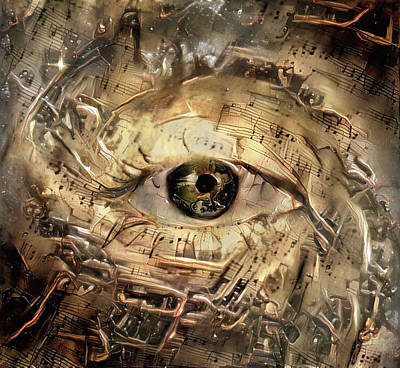 Digital Art - Eye Of God by Bruce Rolff