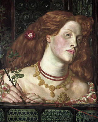 Dante Painting - Fair Rosamund by Dante Gabriel Rossetti