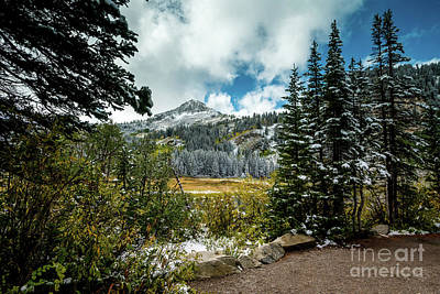 Photograph - Fall - Silver Lake - Wasatch Mountains - Utah by Gary Whitton