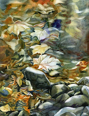 Painting - Falling Into Autumn by Alfred Ng