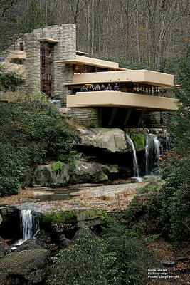 Photograph - Fallingwater by Mark Alesse
