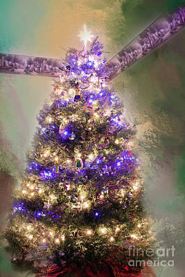 Photograph - Family Christmas Tree by Janie Johnson