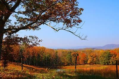 Photograph - Farm Pond by Kathryn Meyer