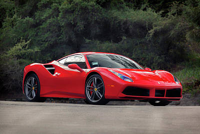 Photograph - #ferrari #488gtb by ItzKirb Photography