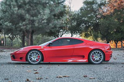 Photograph - #ferrari #challenge #stradale #print by ItzKirb Photography