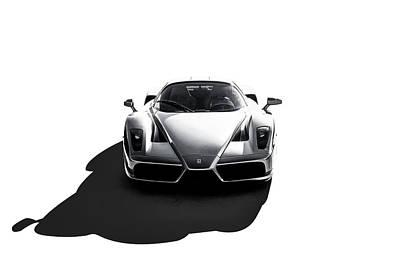 Digital Art - Ferrari Enzo by Douglas Pittman