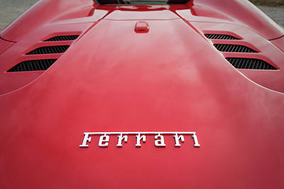 Photograph - #ferrari #print by ItzKirb Photography