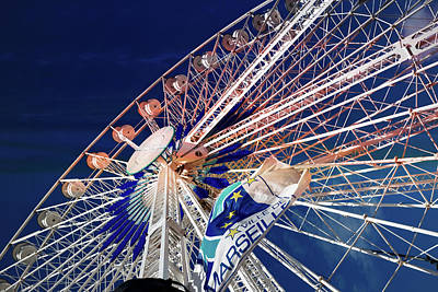 Photograph - Ferris Wheel by Hugh Smith