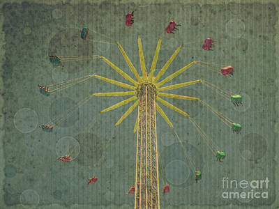 Photograph - Ferris Wheel by Patricia Hofmeester