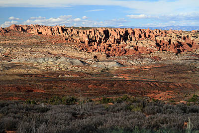 Photograph - Fiery Furnace In Arches National Park by Pierre Leclerc Photography
