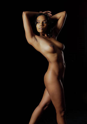 Fine Art Nude Figure Study Photograph - Fine Art Nude Figure Study by James Hammond