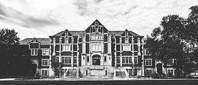 Photograph - Fine Arts Building - Ball State University by Library Of Congress