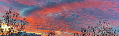 Photograph - Fire In The Sky by Nancy Marie Ricketts