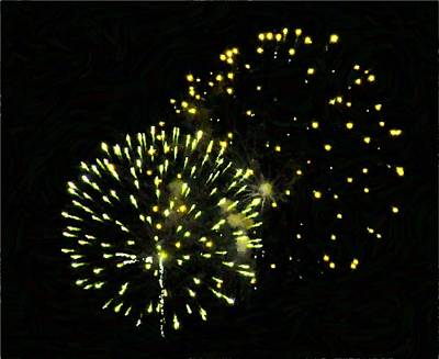 Photograph - Fireworks by JAMART Photography