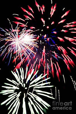 Photograph - Fireworks by Jim And Emily Bush