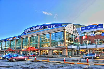 First Niagara Center Art Print