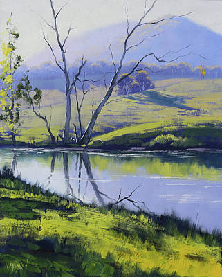 Paintings - Fish River Tarana by Graham Gercken