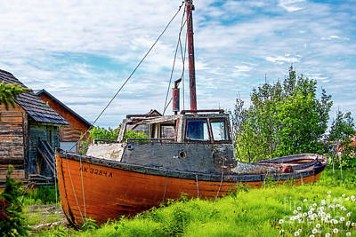 Photograph - Fishing Boat by David Arment
