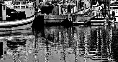 Photograph - Fishing Boats by Werner Lehmann