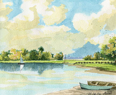 Just Desserts - Fishing Lake by Alban Dizdari
