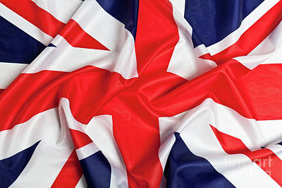 Photograph - Flag Of The United Kingdom by Gualtiero Boffi