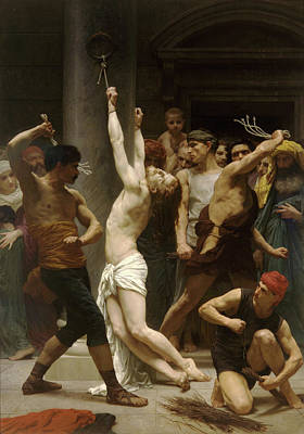 Flagellation Of Christ Art Print