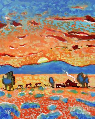 Maynard Dixon Painting - Flapjack Morning by Kip Decker