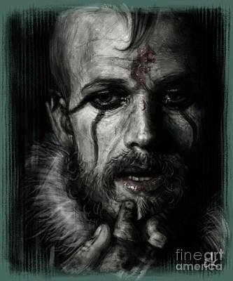 Digitalart Drawing - Floki by Andre Koekemoer