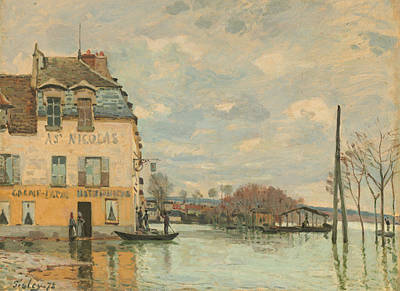 Flood At Port - Marly Print by Mountain Dreams