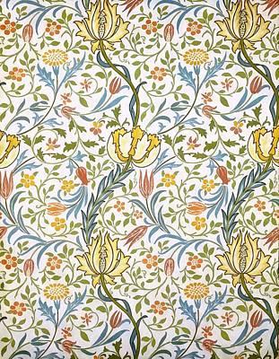 William Morris Painting - Flora by William Morris