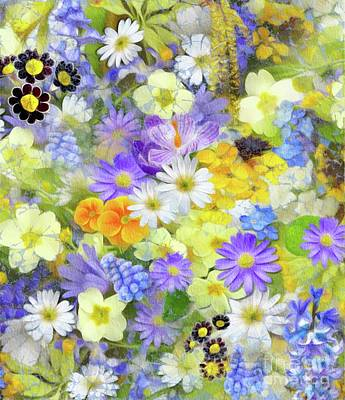 Floral Royalty-Free and Rights-Managed Images - Floral Design by Sarah Kirk