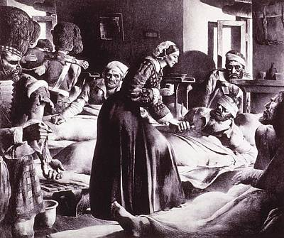 Florence Nightingale 1820-1910 Art Print by Everett