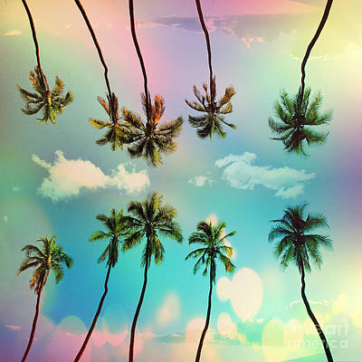 Summer Fun Digital Art - Florida by Mark Ashkenazi