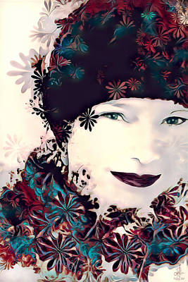 Digital Art - Flower Girl by Pennie McCracken
