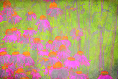 Digital Art - Flowers by David Stasiak