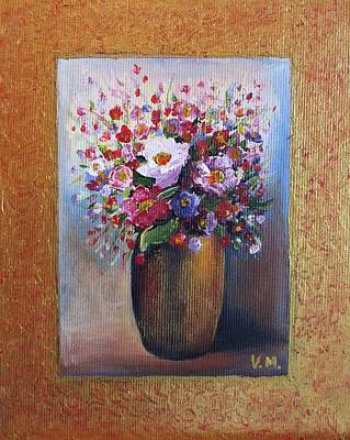 Still Life Royalty-Free and Rights-Managed Images - Flowers by Vesna Martinjak