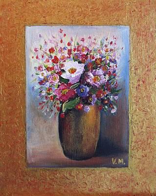 Painting - Flowers by Vesna Martinjak