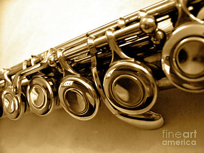 Photograph - Flute Macro by Jenness Asby