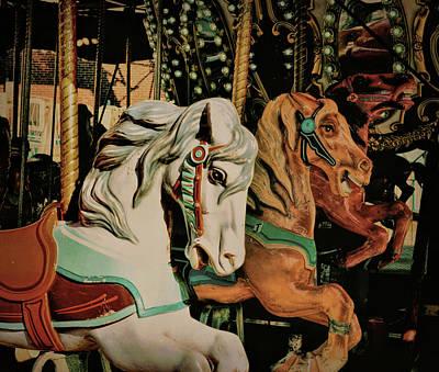 Photograph - Flying Hobbyhorses by JAMART Photography