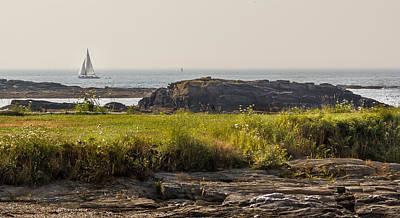 Photograph - Foggy Coast by Jane Luxton