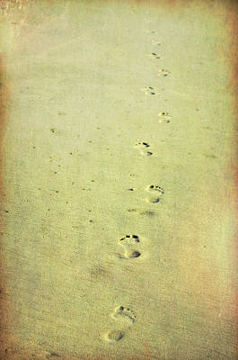 Photograph - Footprints by JAMART Photography
