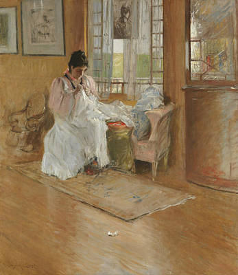 Painting - For The Little One by William Merritt Chase