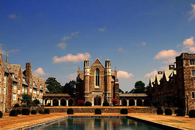 Berry College Photograph - Ford Buildings by Jason Blalock