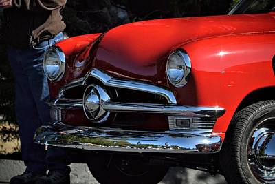 Photograph - Ford Detail by Dean Ferreira