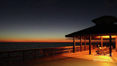 Photograph - Fort Myers Beach Fishing Pier by Wendy Fielding