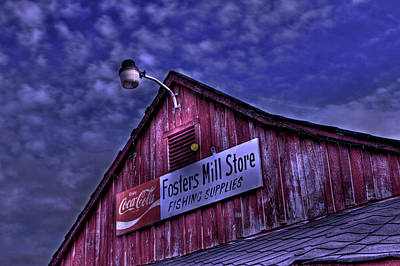 Fosters Mill Store Hdr Original by Jason Blalock