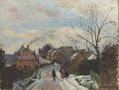Fox Hill Upper Norwood Print by Camille Pissarro