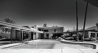 Photograph - Frank Sinatra's Twin Palms Estate by L O C