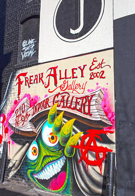 Photograph - Freak Alley Boise by Dart Humeston